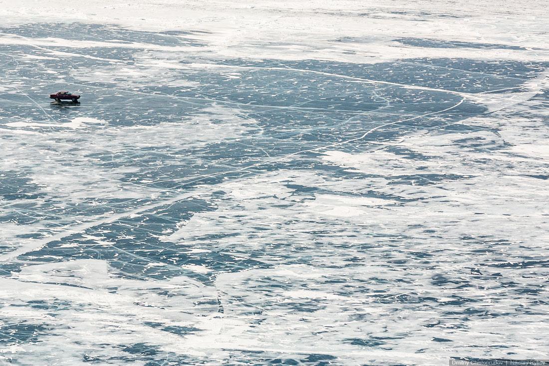Lake Baikal and Olkhon Island: Wonderful ice world of cold Siberia - 37