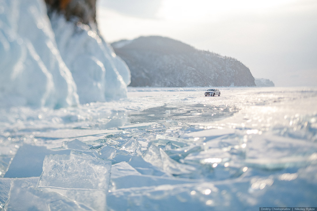 Lake Baikal and Olkhon Island: Wonderful ice world of cold Siberia - 38