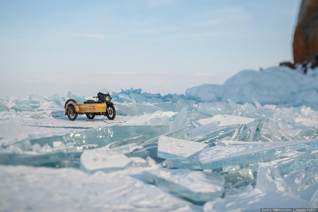 Lake Baikal and Olkhon Island: Wonderful ice world of cold Siberia - 39