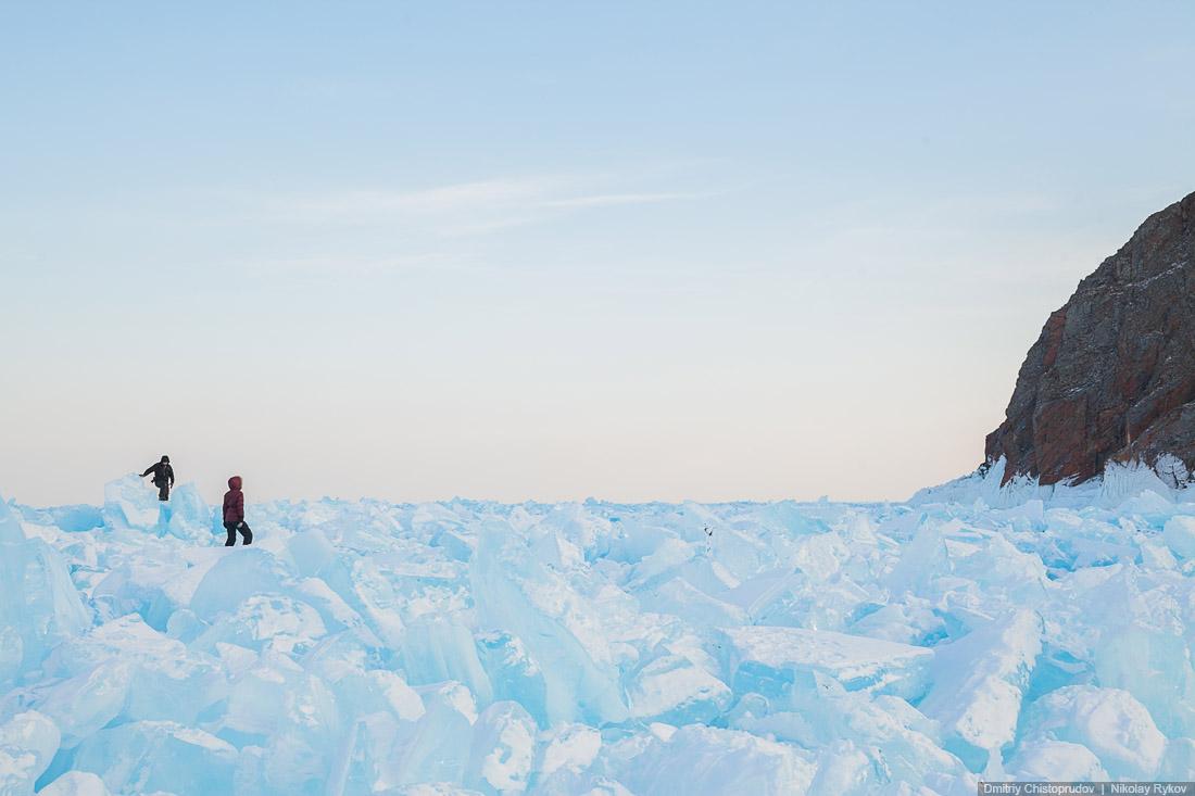 Lake Baikal and Olkhon Island: Wonderful ice world of cold Siberia - 40