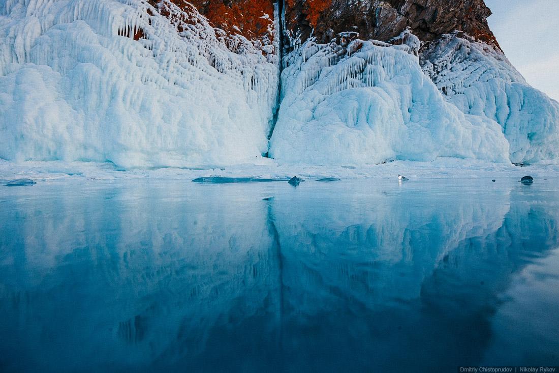 Lake Baikal and Olkhon Island: Wonderful ice world of cold Siberia - 42