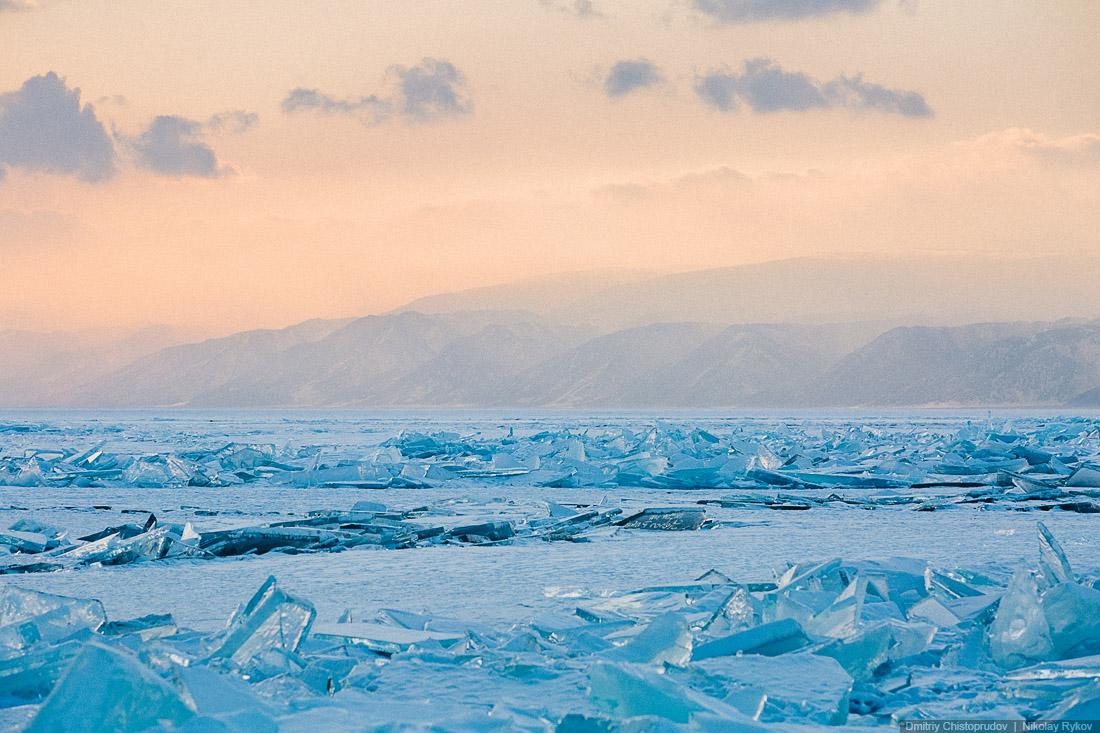 Lake Baikal and Olkhon Island: Wonderful ice world of cold Siberia - 43