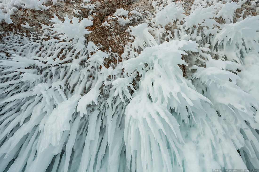 Lake Baikal and Olkhon Island: Wonderful ice world of cold Siberia - 44