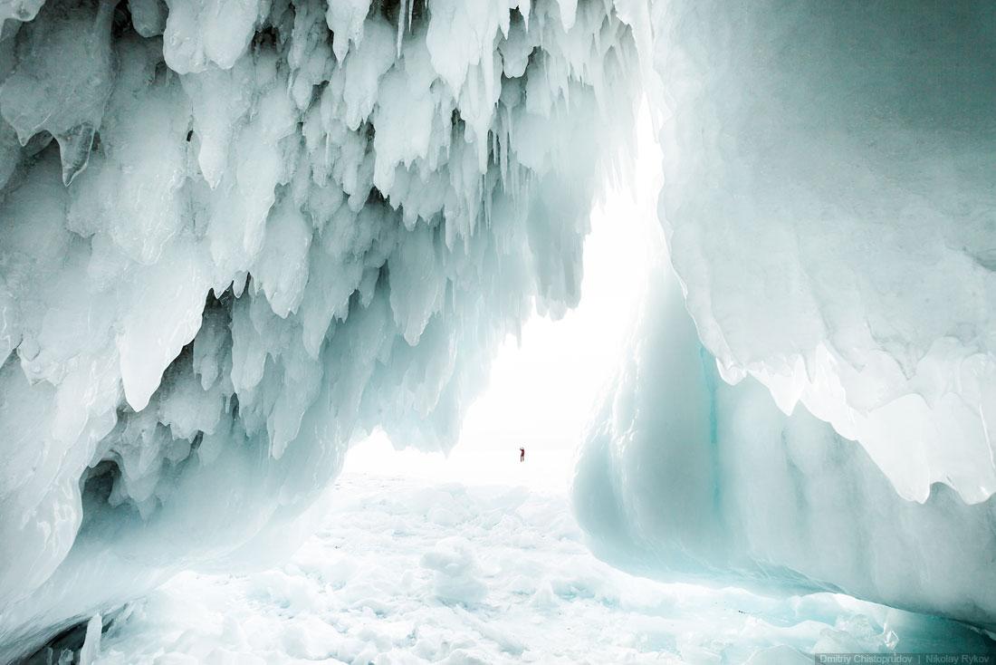 Lake Baikal and Olkhon Island: Wonderful ice world of cold Siberia - 45