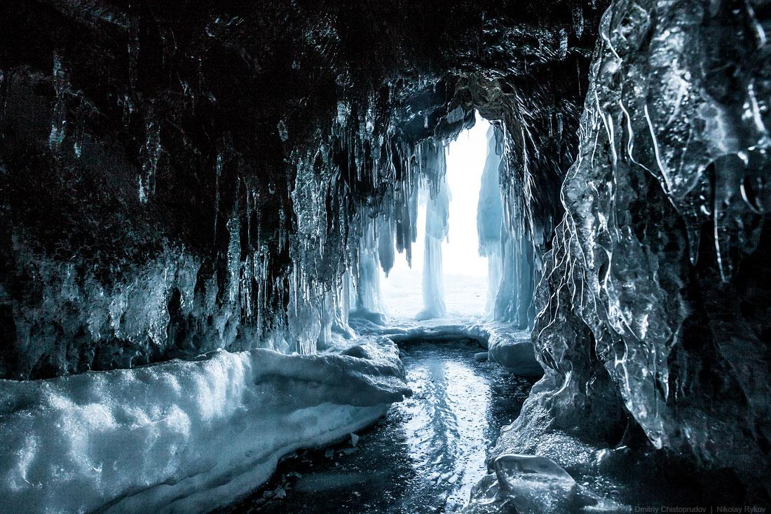 Lake Baikal and Olkhon Island: Wonderful ice world of cold Siberia - 55