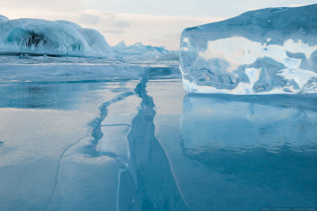 Lake Baikal and Olkhon Island: Wonderful ice world of cold Siberia - 56
