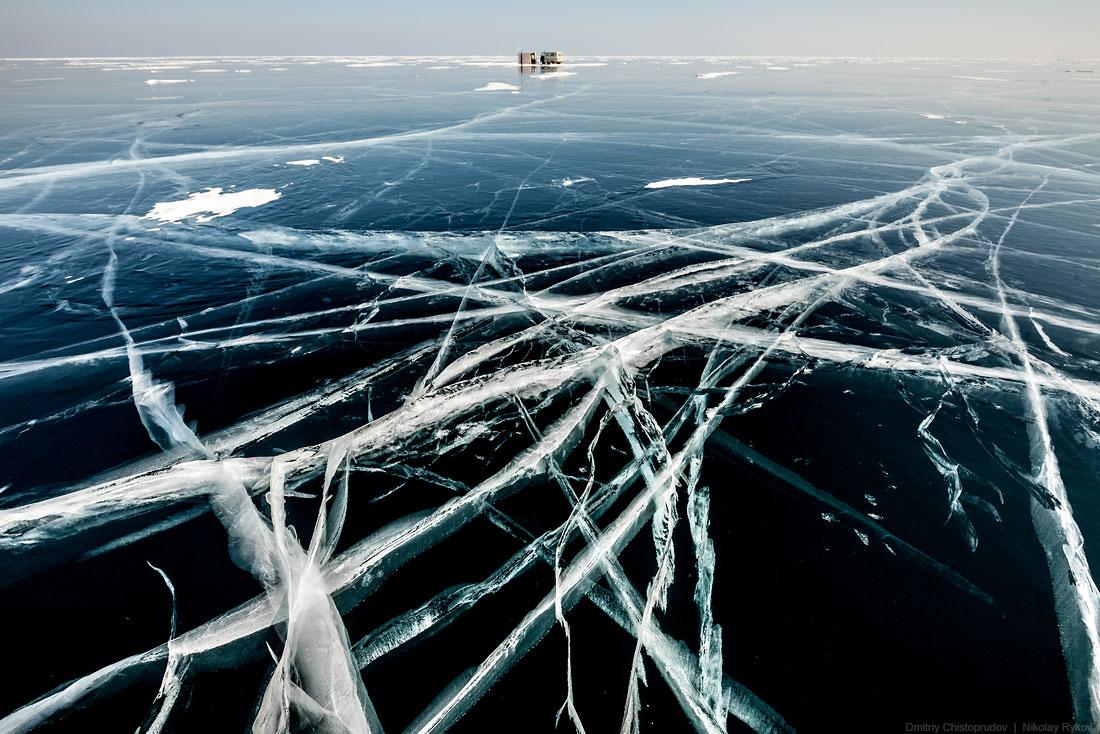 Lake Baikal and Olkhon Island: Wonderful ice world of cold Siberia - 62