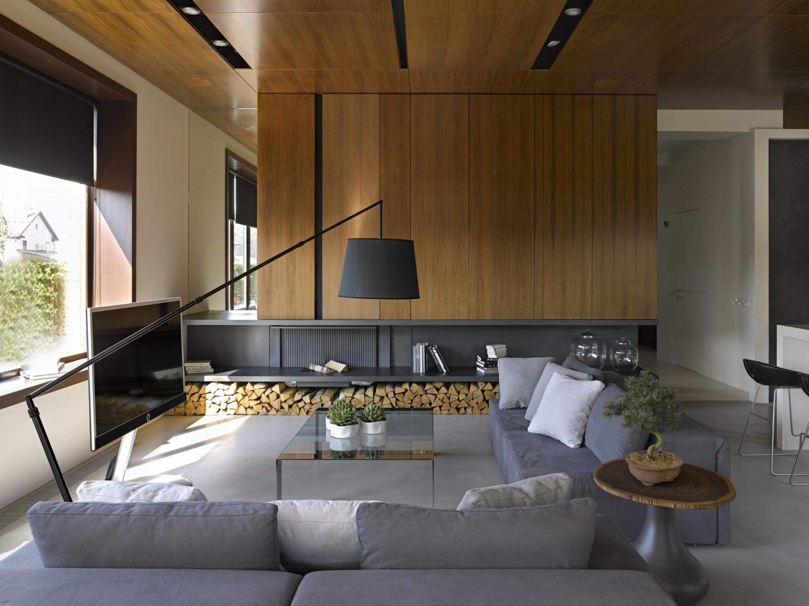 Nice villa interior by architectural Bureau of Alexandra Fedorova - 01