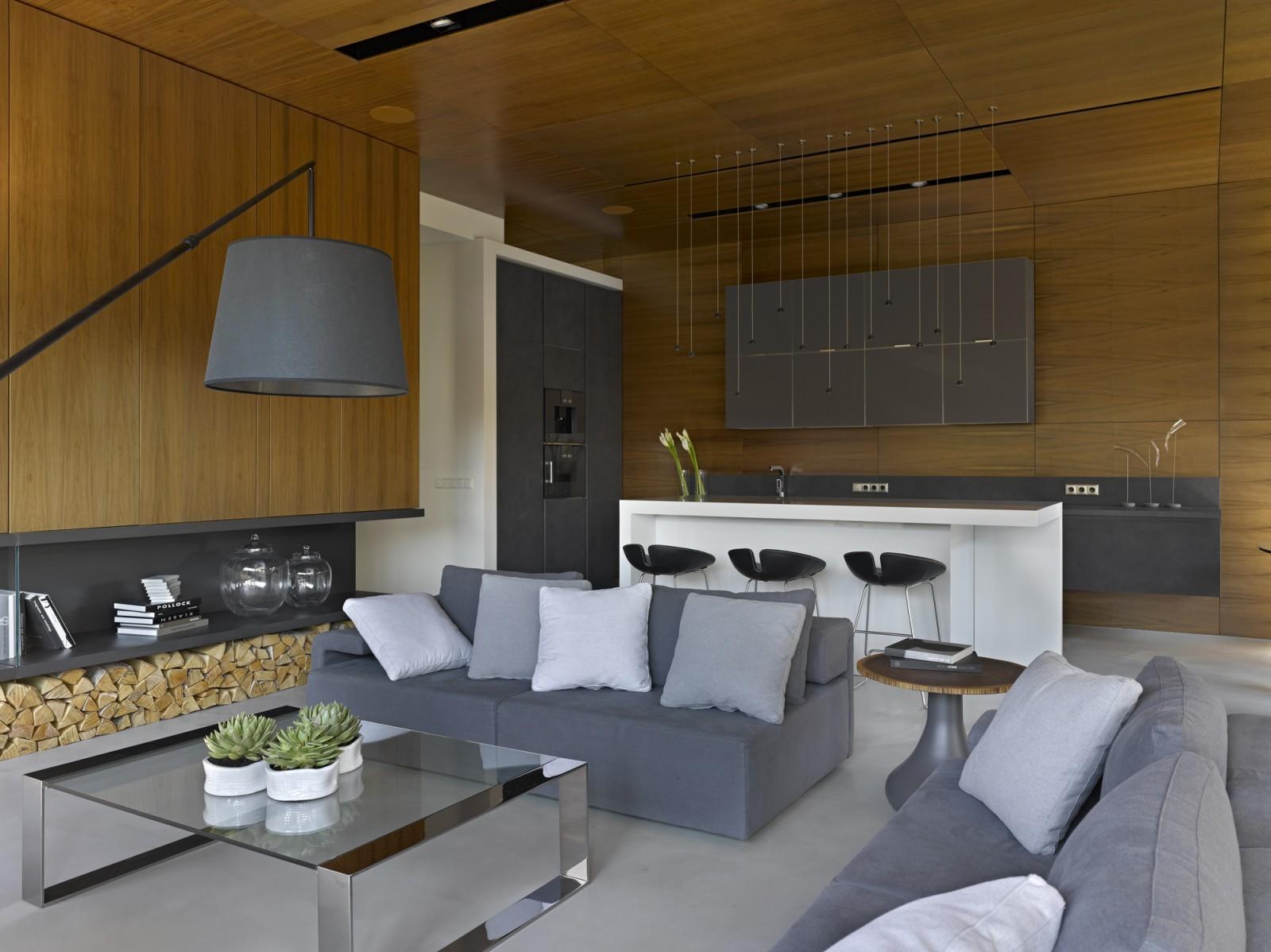 Nice villa interior by architectural Bureau of Alexandra Fedorova - 02