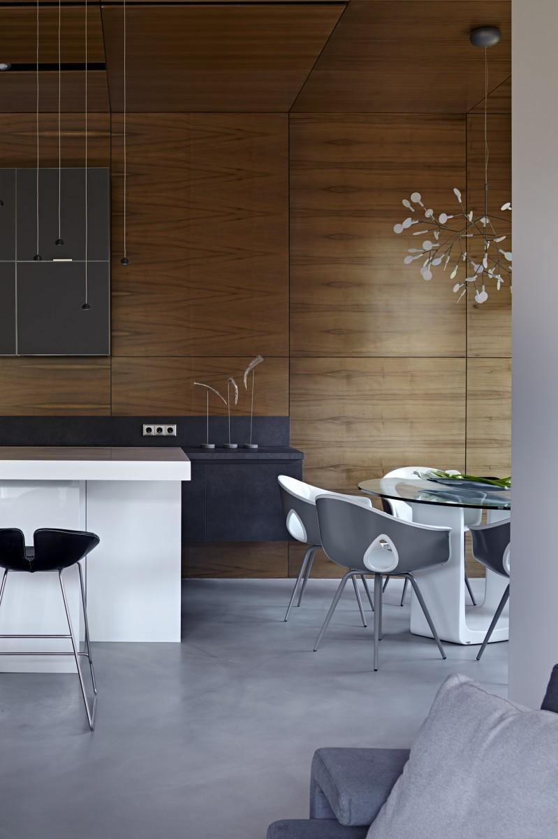 Nice villa interior by architectural Bureau of Alexandra Fedorova - 04