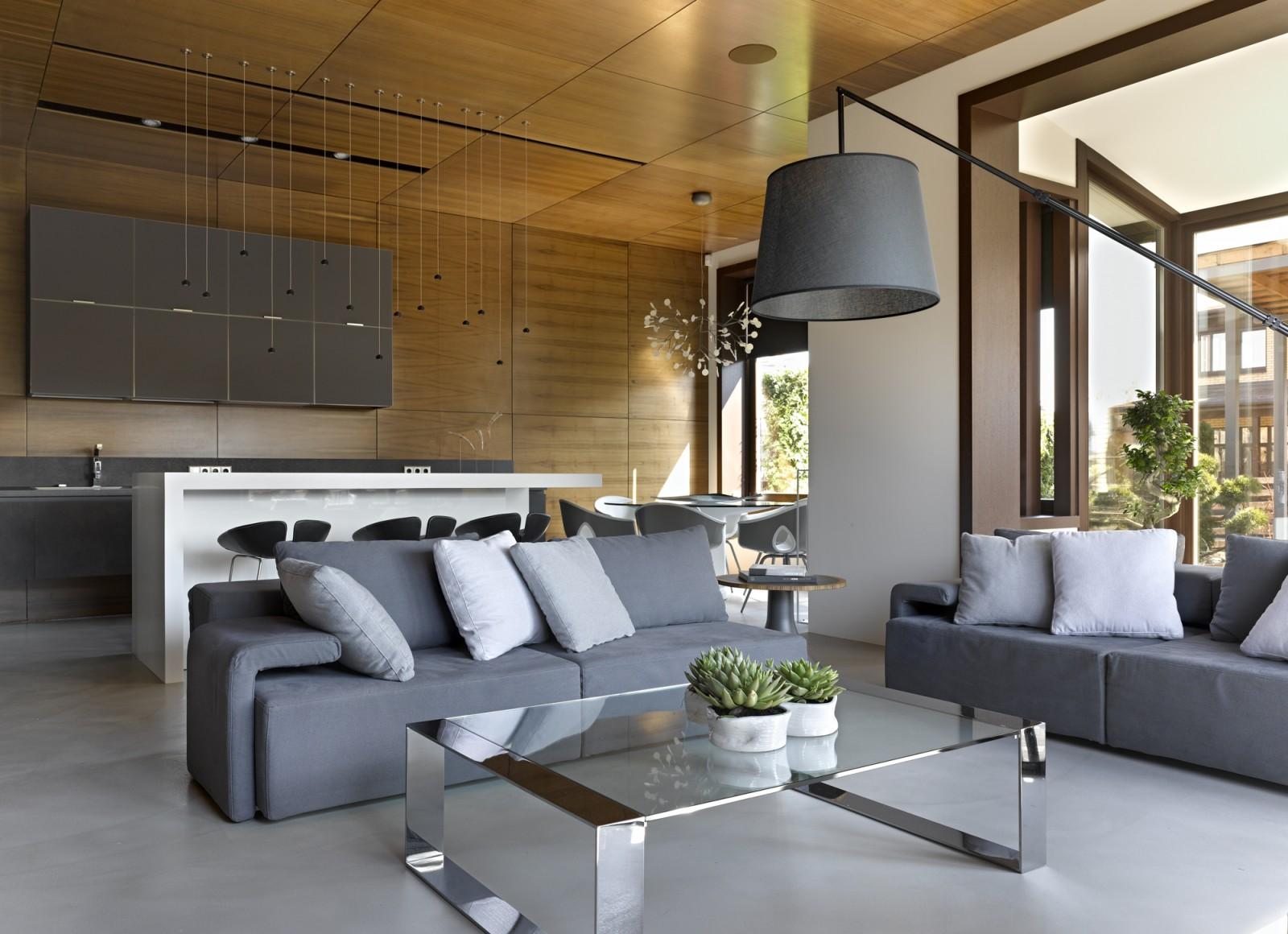 Nice villa interior by architectural Bureau of Alexandra Fedorova - 07