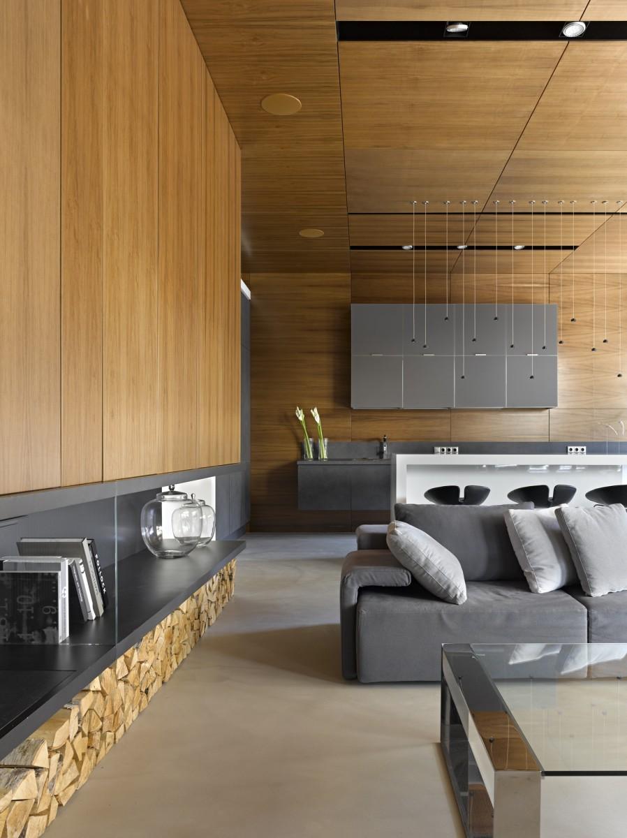 Nice villa interior by architectural Bureau of Alexandra Fedorova - 08