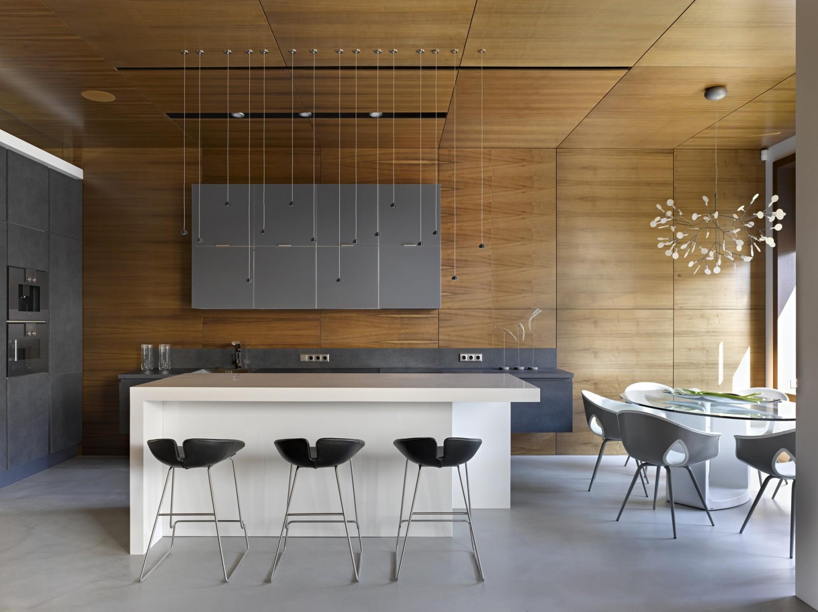 Nice villa interior by architectural Bureau of Alexandra Fedorova - 09