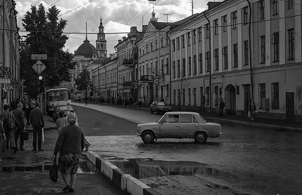 Republic of Tatarstan: Old photos of Kazan and its people 1990s - 03
