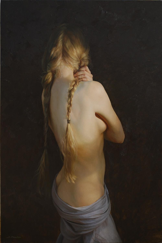 Women's images by a Russian realist artist Sergey Marshennikov - 14