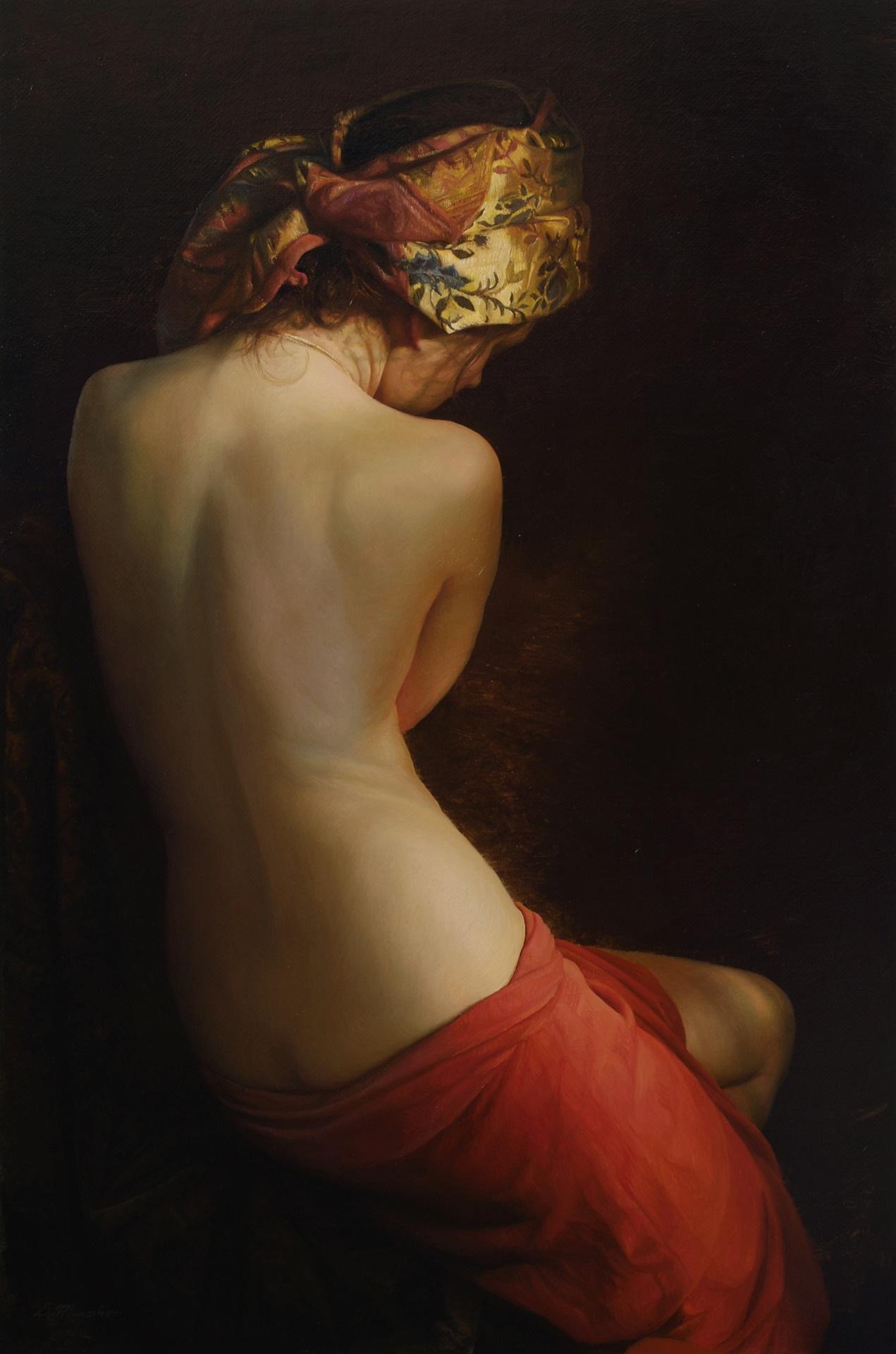 Women's images by a Russian realist artist Sergey Marshennikov - 15