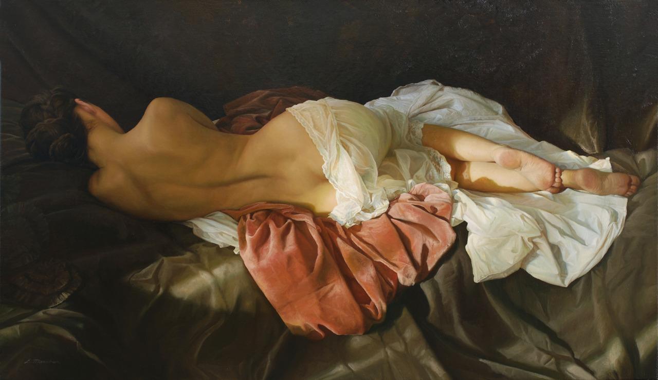 Women's images by a Russian realist artist Sergey Marshennikov - 16