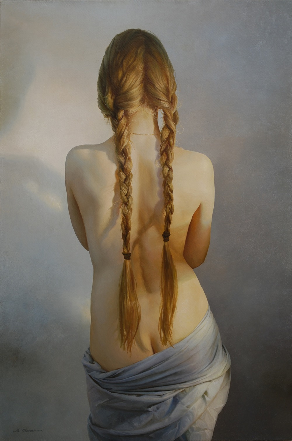Women's images by a Russian realist artist Sergey Marshennikov - 17
