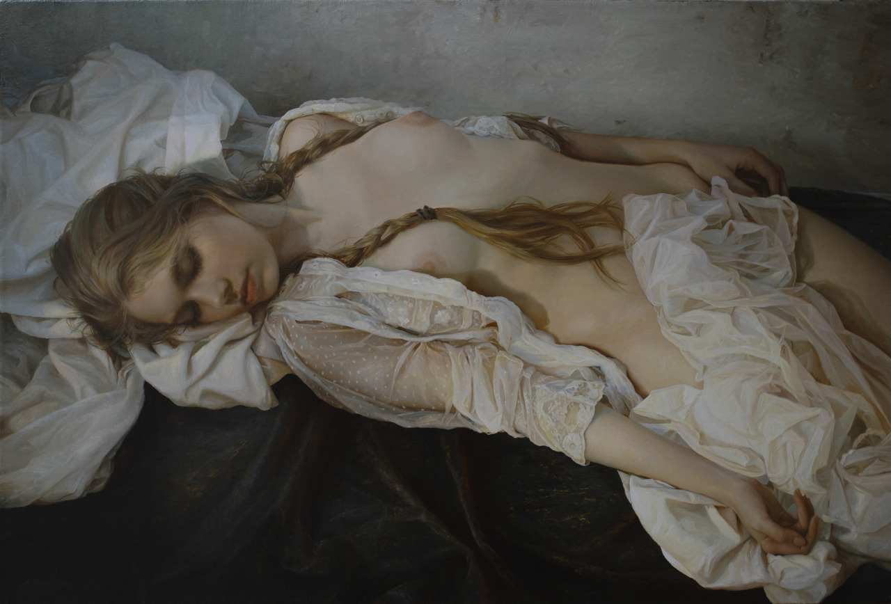 Women's images by a Russian realist artist Sergey Marshennikov - 18