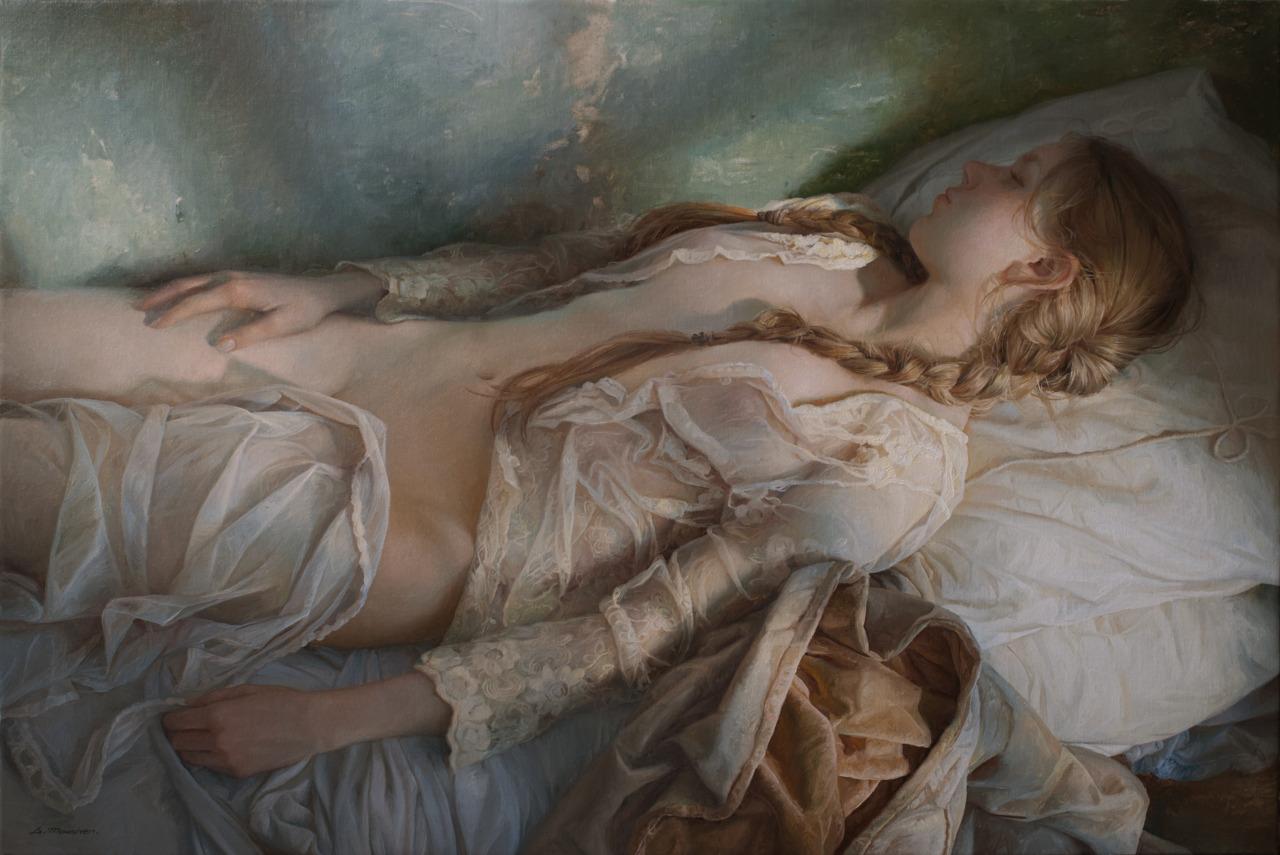 Women's images by a Russian realist artist Sergey Marshennikov - 22