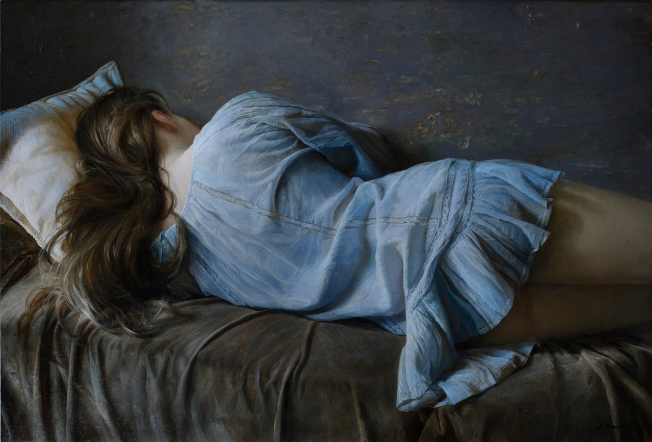 Women's images by a Russian realist artist Sergey Marshennikov - 23