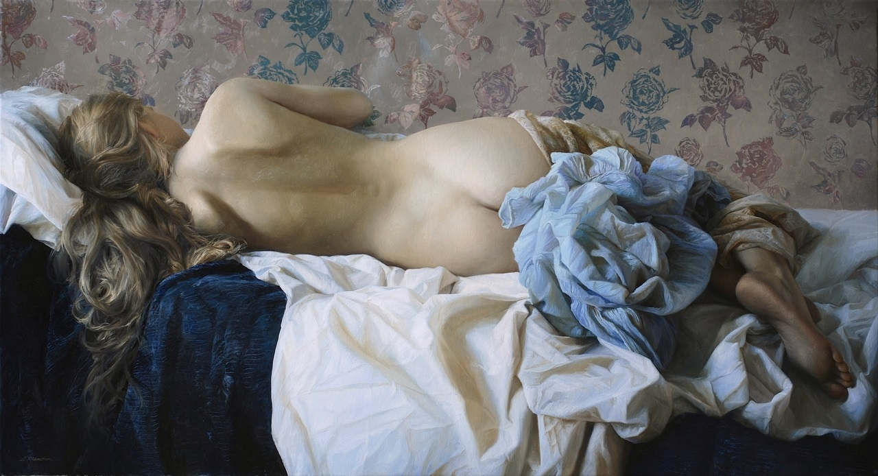 Women's images by a Russian realist artist Sergey Marshennikov - 27