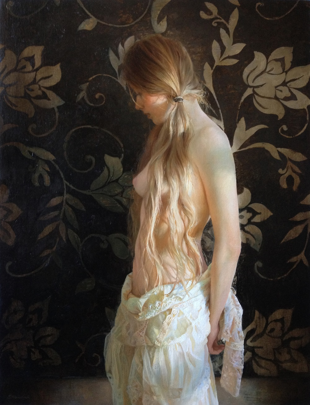 Women's images by a Russian realist artist Sergey Marshennikov - 31