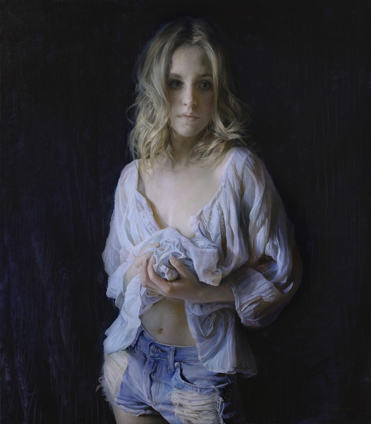 Women's images by a Russian realist artist Sergey Marshennikov - 36