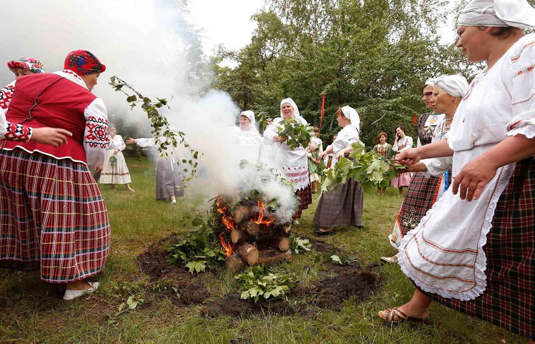Belarusian mermaids: Slavic festival in the Republic of Belarus - 01