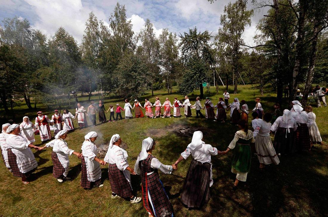 Belarusian mermaids: Slavic festival in the Republic of Belarus - 10