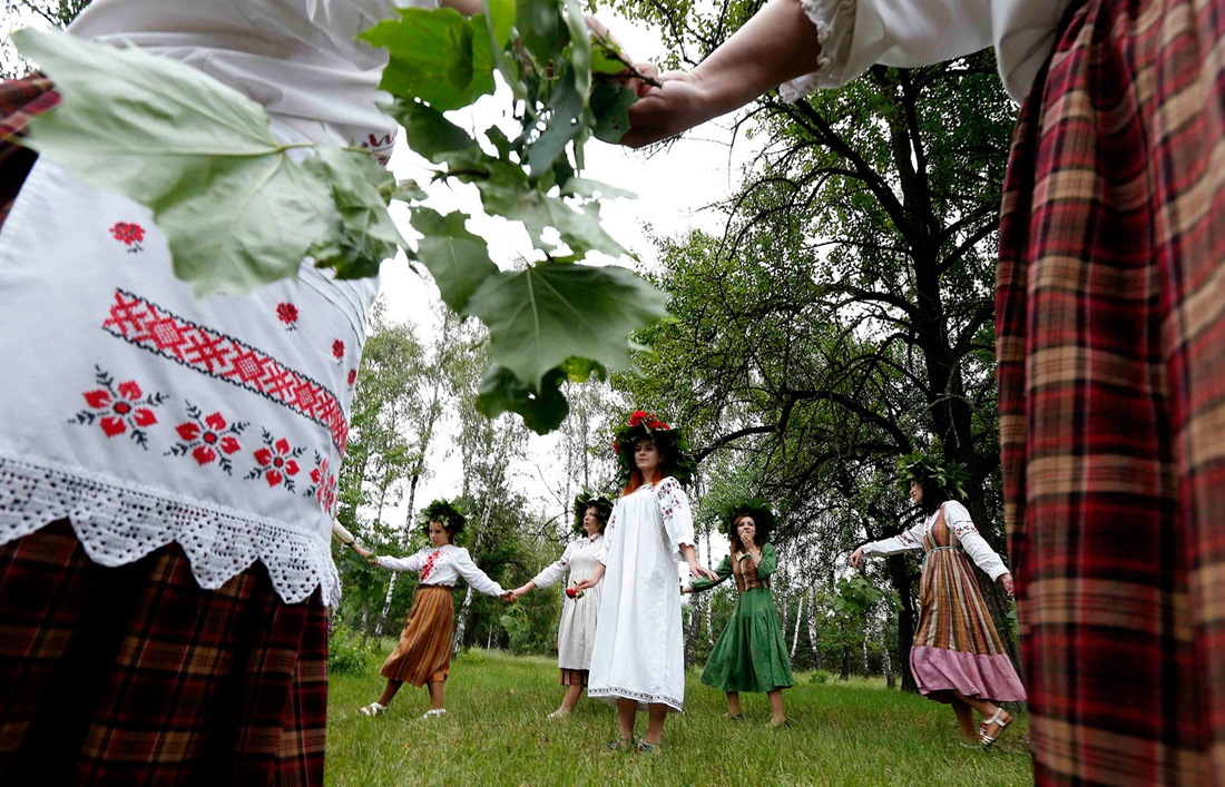 Belarusian mermaids: Slavic festival in the Republic of Belarus - 11