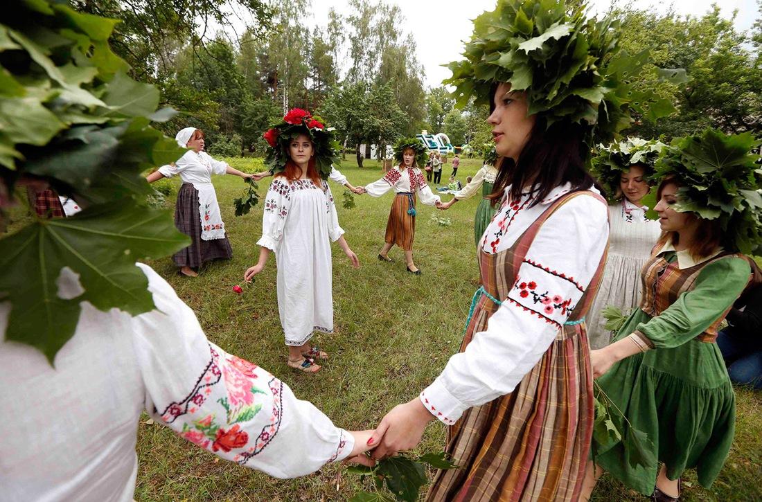 Belarusian mermaids: Slavic festival in the Republic of Belarus - 12