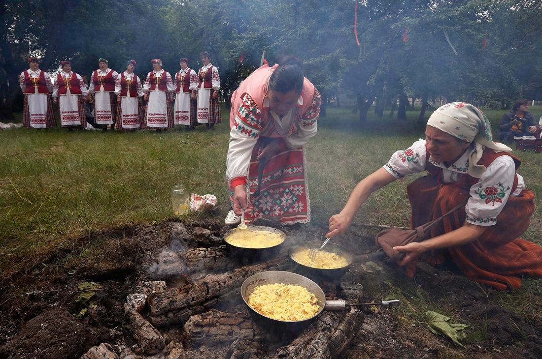 Belarusian mermaids: Slavic festival in the Republic of Belarus - 16