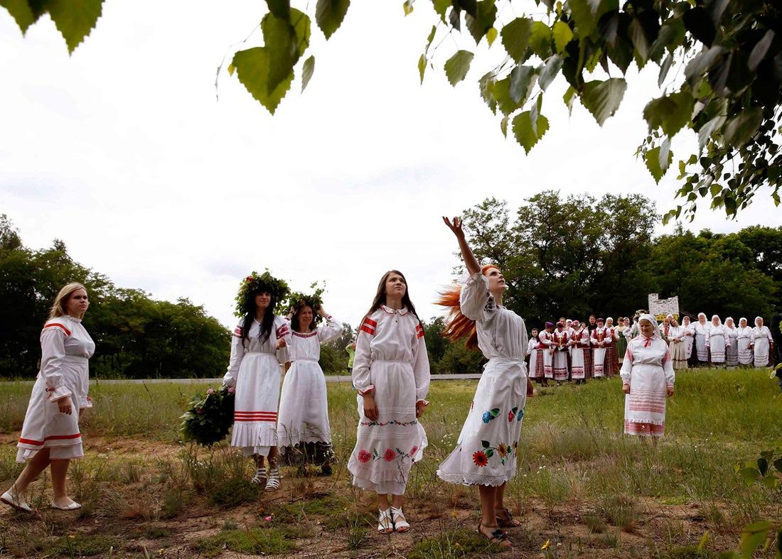 Belarusian mermaids: Slavic festival in the Republic of Belarus - 05