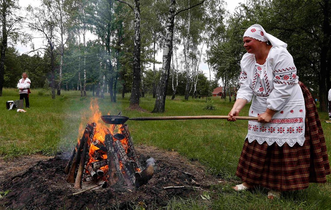 Belarusian mermaids: Slavic festival in the Republic of Belarus - 06