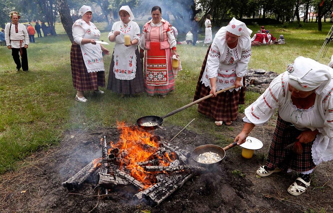 Belarusian mermaids: Slavic festival in the Republic of Belarus - 07