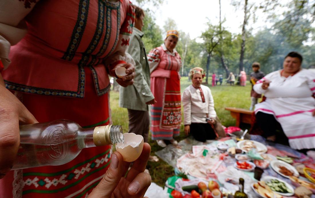 Belarusian mermaids: Slavic festival in the Republic of Belarus - 08