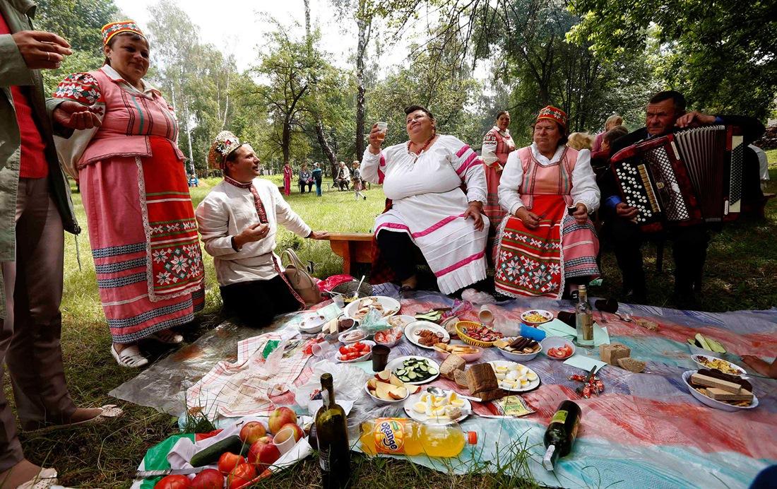 Belarusian mermaids: Slavic festival in the Republic of Belarus - 09