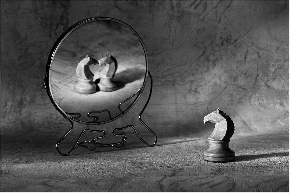 Black-white artwork by a Russian photographer Victoria Ivanova - 13
