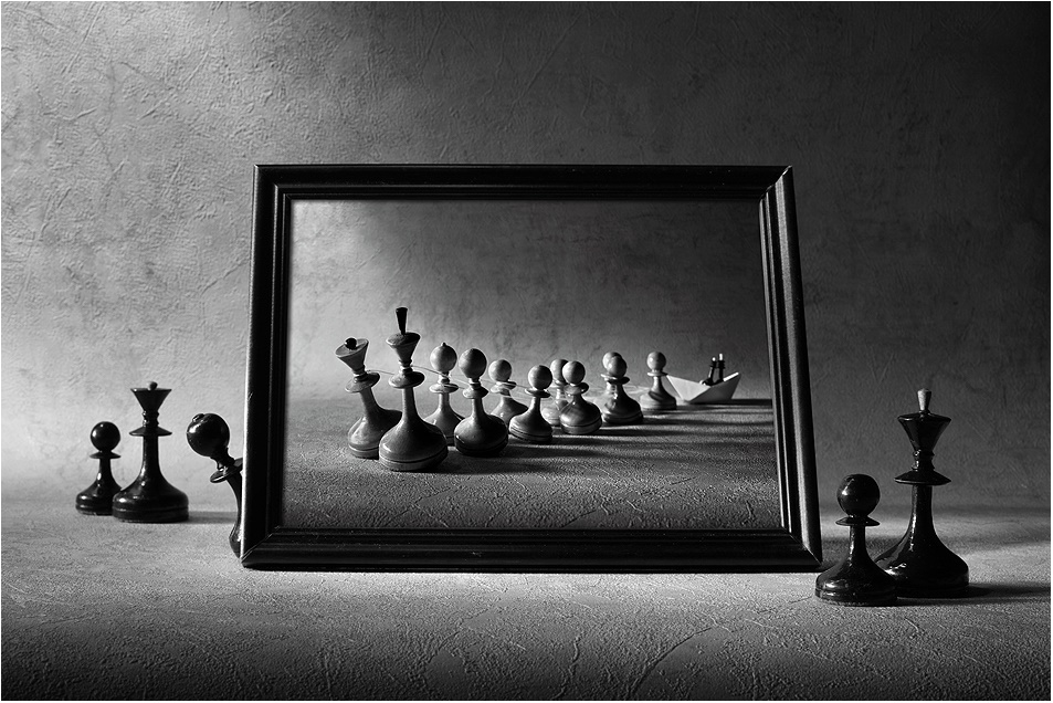 Black-white artwork by a Russian photographer Victoria Ivanova - 36