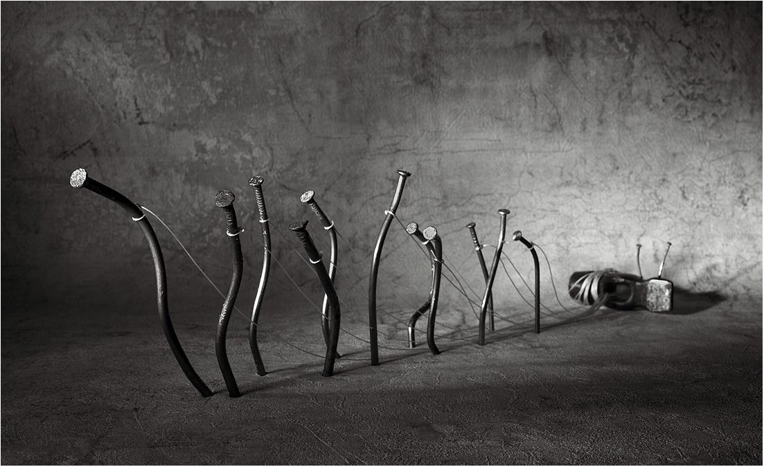 Black-white artwork by a Russian photographer Victoria Ivanova - 05
