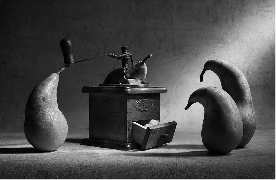 Black-white artwork by a Russian photographer Victoria Ivanova - 68