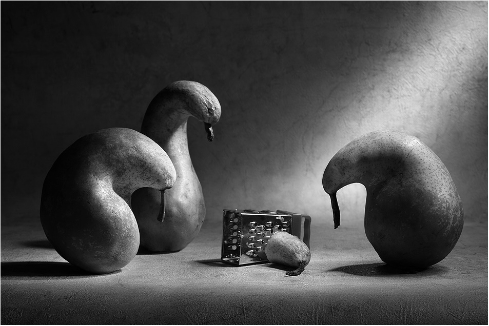 Black-white artwork by a Russian photographer Victoria Ivanova - 69