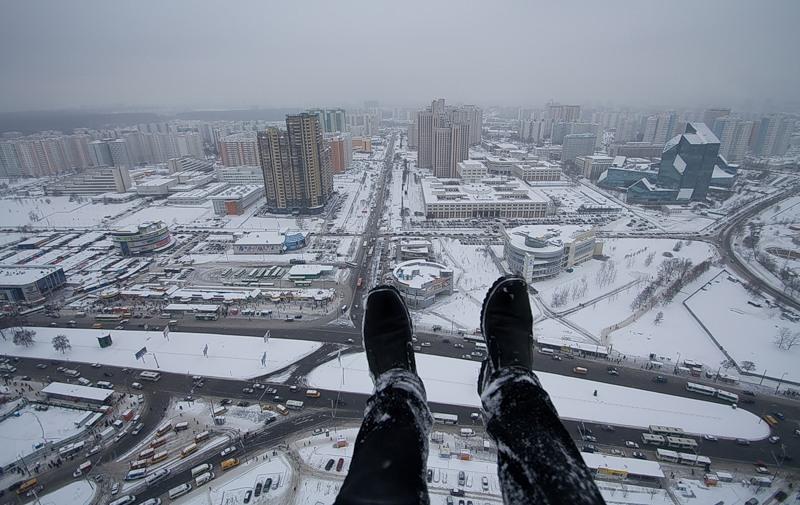 Breathtaking height: Photos by a Russian thrill seeker Marat Dupri - 01