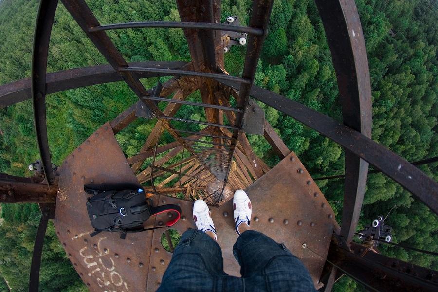 Breathtaking height: Photos by a Russian thrill seeker Marat Dupri - 19