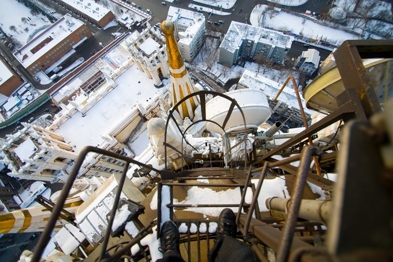 Breathtaking height: Photos by a Russian thrill seeker Marat Dupri - 02