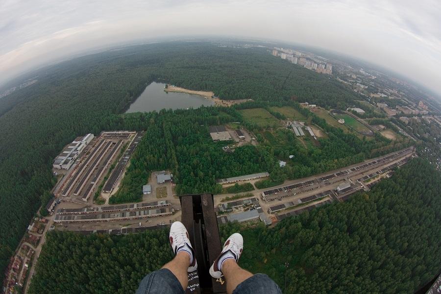 Breathtaking height: Photos by a Russian thrill seeker Marat Dupri - 20