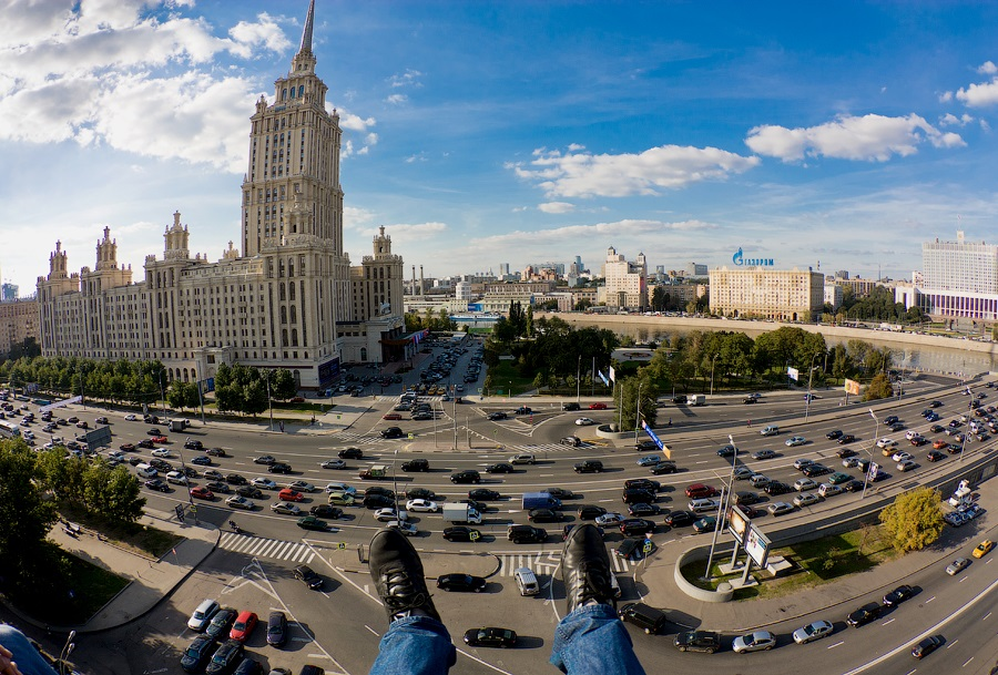 Breathtaking height: Photos by a Russian thrill seeker Marat Dupri - 27