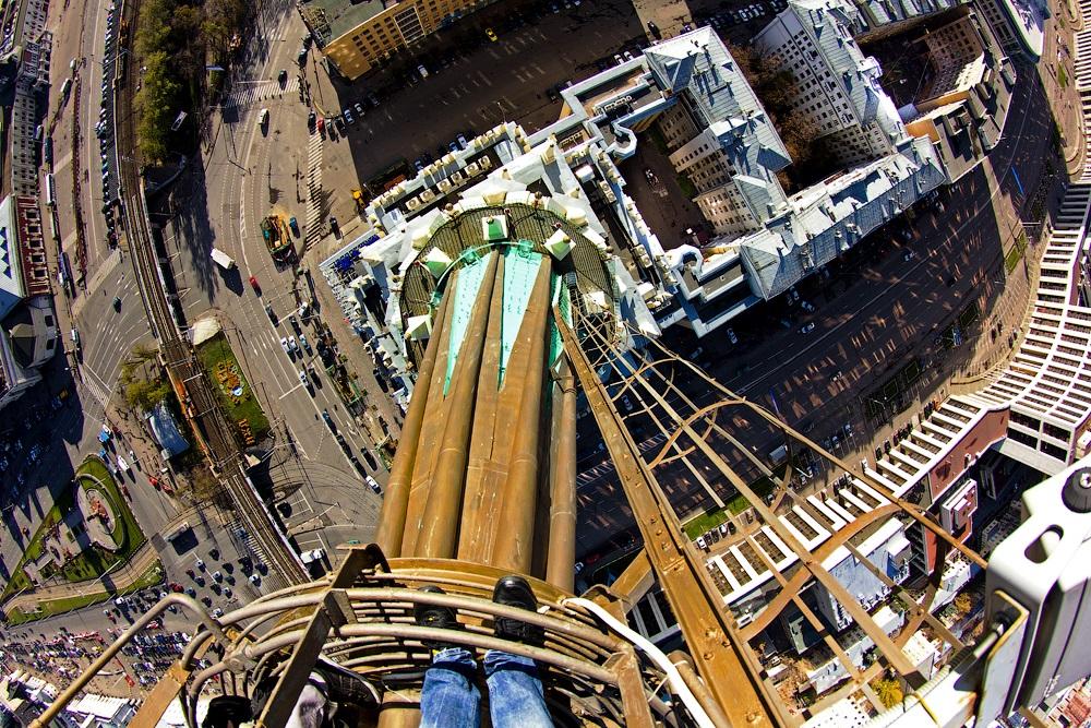 Breathtaking height: Photos by a Russian thrill seeker Marat Dupri - 29