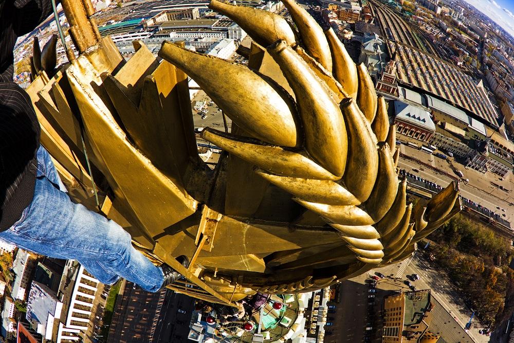 Breathtaking height: Photos by a Russian thrill seeker Marat Dupri - 30